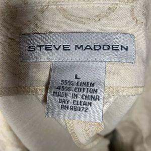 Steve Madden Jackets & Coats - Steve Madden Double Breasted Linen Cape - Large